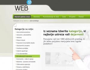nova web5 kategorija